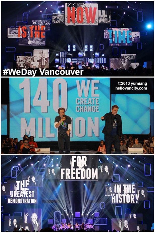 WeDayVancouver2013-ChangeMLK