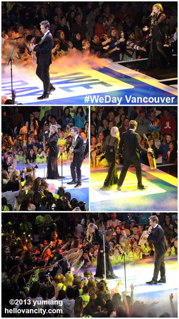 WeDayVancouver2013-ChavrilPerforms