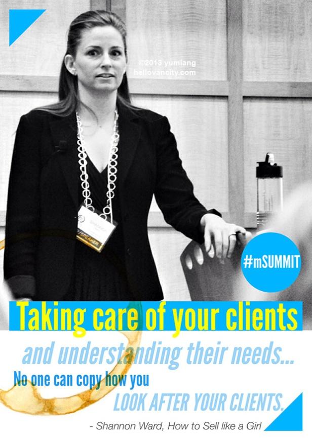 mSummit2013-TakingCareClients