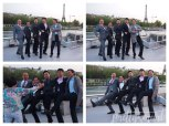 Paris2015-yumiang-BoatCruise-Cancan-men-ondeck